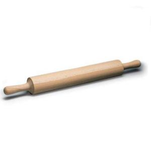 Скалка буковая с ручками большая