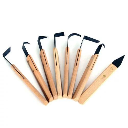 Набор клюшка - нож 8 предметов