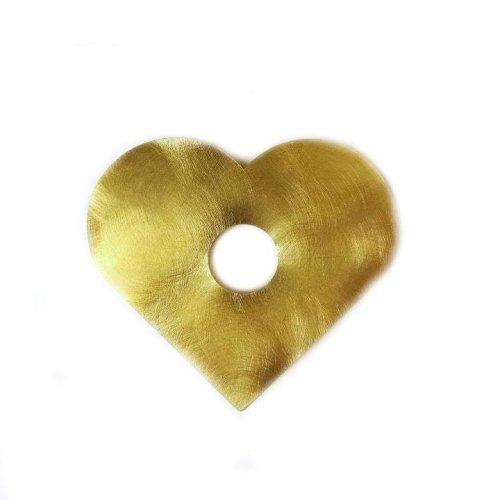 Цикля латунная Сердце